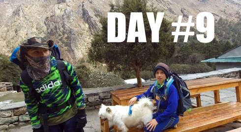 CLICK TO WATCH: DAY 9️⃣| Deboche to Panboche /// Everest Base Camp Trek w/Kids (2018)