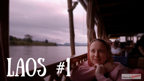 Click here to watch: Luxury Mekong River Cruise 🛳 in Laos - Day 1️⃣ (2018)
