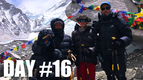 CLICK TO WATCH: DAY 1️⃣6️⃣ | WE MADE IT!! /// Everest Base Camp Trek w/Kids (2018)