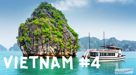 Click Here to Watch: Halong Bay Cruise in Vietnam 🚢Cat Ba & 🐒Monkey Island (2018)