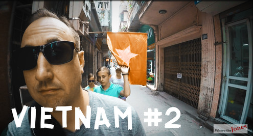 Click Here to Watch: Traveling Vietnam (UNEDITED) 🚶A walk down a random alley in Hanoi (2018)