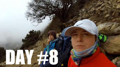 CLICK TO WATCH: DAY 8️⃣| Phungi Thenga to Tengboche & Deboche /// Everest Base Camp Trek w/Kids (2018)