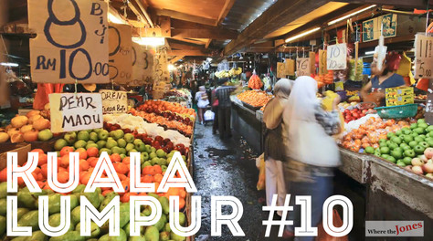 Click to watch: Chow Kit Market 🍈Kuala Lumpur. IN SEARCH OF JACKFRUIT 👀