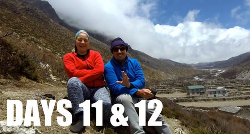 CLICK TO WATCH: DAYS 1️⃣1️⃣ & 1️⃣2️⃣| Observations & Discussion /// Everest Base Camp Trek w/Kids (2018)