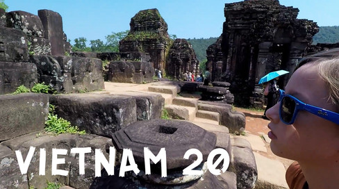 CLICK HERE TO WATCH: My Son (Pronounced ME Son) Hindu Ruins in Vietnam? - 2018