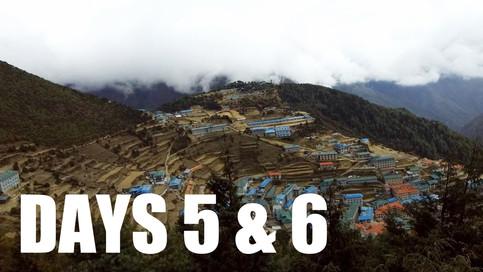 CLICK TO WATCH: Days 5️⃣ & 6️⃣| Acclimatization Days in Namche Bazaar /// Everest Base Camp Trek w/Kids (2018)