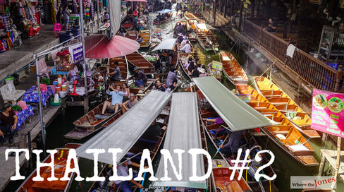 Click to watch: Bangkok 😮 Floating Market 🚤