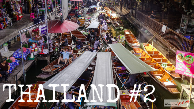 Click to watch: Bangkok 😮 Floating Market 🚤
