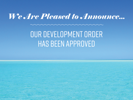 Palace Sands Development Order Approved!