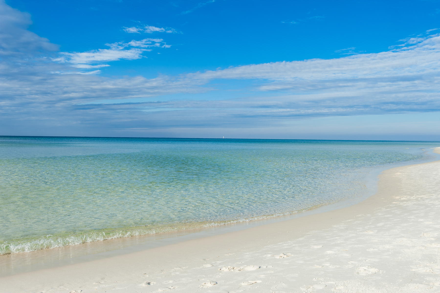 Gulf of Mexico in Panama City Beach, Flo