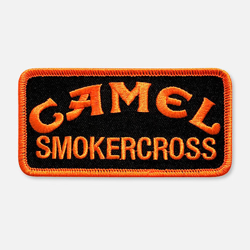 CAMEL SMOKERCROSS  PATCH BLACK/ORANGE