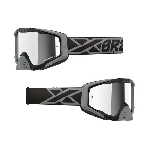 EKS-S Iridium Goggle Black/Silver