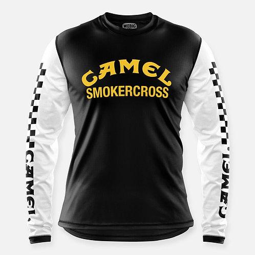 CAMEL SMOKERCROSS JERSEY BLACK/WHITE