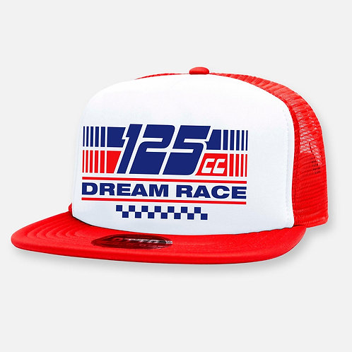 125 DREAM RACE HAT RED/WHITE