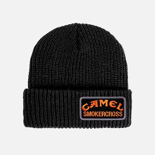 CAMEL SMOKERCROSS PATCH BEANIE