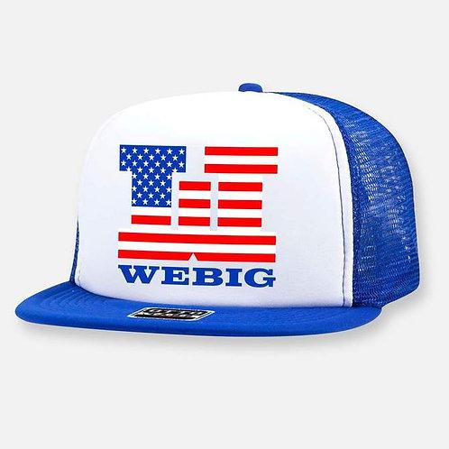 WEBIG PATRIOT LOGO HAT