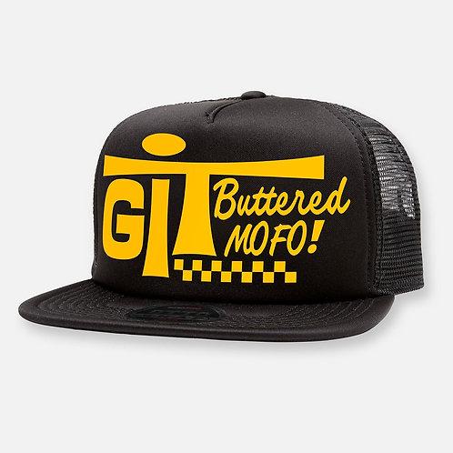 GIT BUTTERED HAT BLACK
