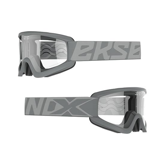 GOX Flatout Goggle Fighter Grey
