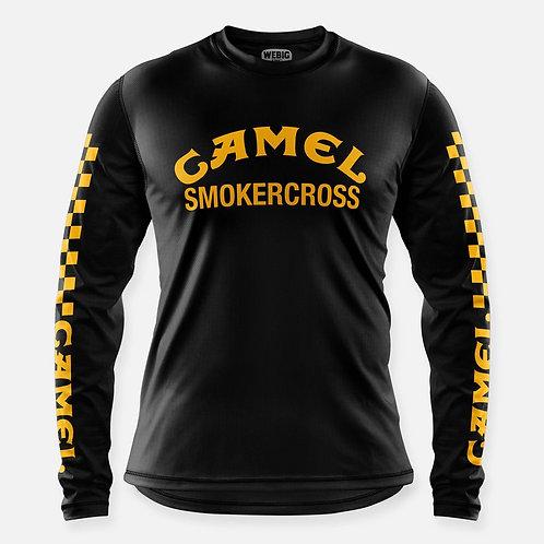 CAMEL SMOKERCROSS JERSEY BLACK