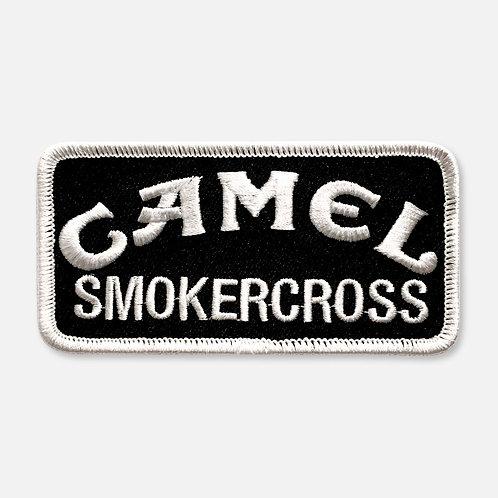 CAMEL SMOKERCROSS  PATCH BLACK/WHITE