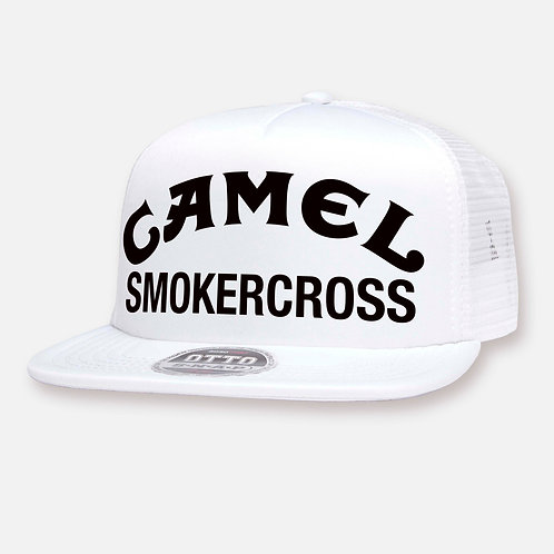 CAMEL SMOKERCROSS HAT WHITE