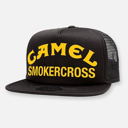 CAMEL SMOKERCROSS HAT BLACK