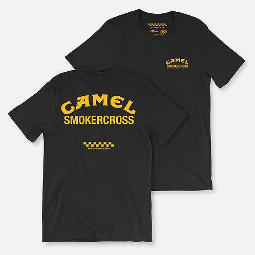 CAMEL SMOKERCROSS TEE BLACK