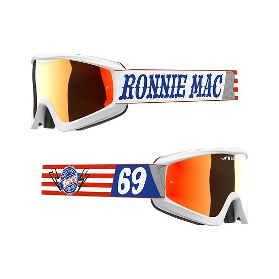 EKS Brand Beer Goggle Ronnie Mac 69 with Iridium Lens