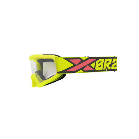XGROM Youth Goggle Flo Yellow/Black/Fire Red