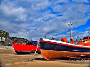 Fishing Boats, Barmouth