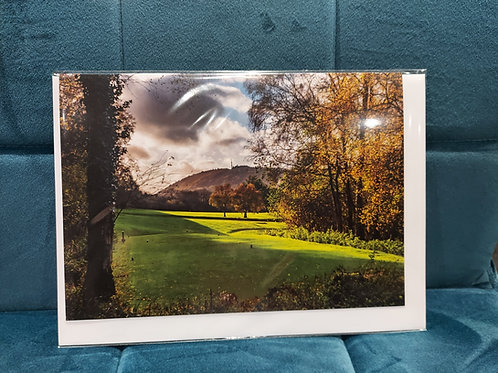 Wrekin Golf Club Exclusive Greeting Cards