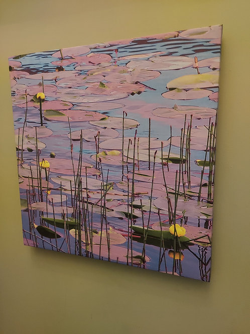 Lily Pond Canvas