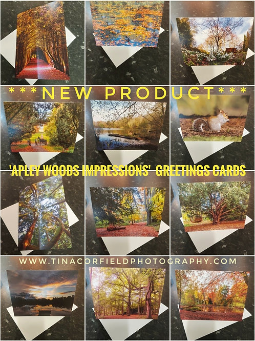 Apley Woods Impressions Greetings Cards