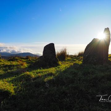 Sunburst Stone Circle