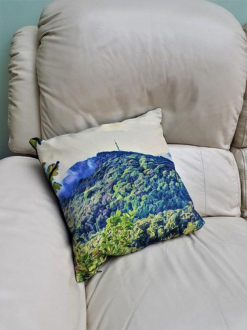 Linen Cushion - Landscape Impressions - 'The Wrekin'