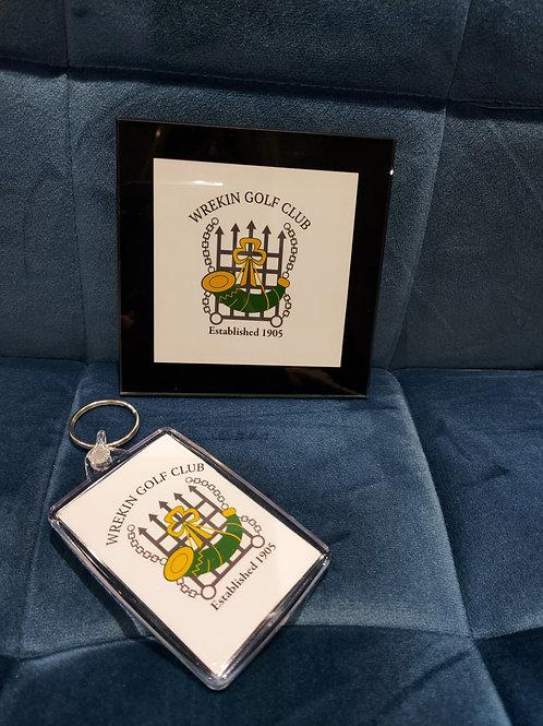 Wrekin Golf Club Exclusive Key Ring