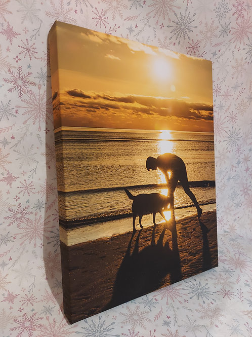 Personalised A3 Canvas Print (with your own image)