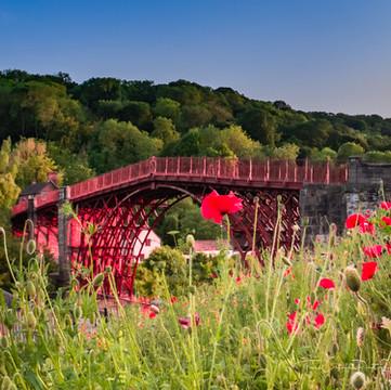 Ironbridge with poppies 2P6030389-Edit.jpg