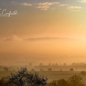 Misty Sunrise, The Wrekin