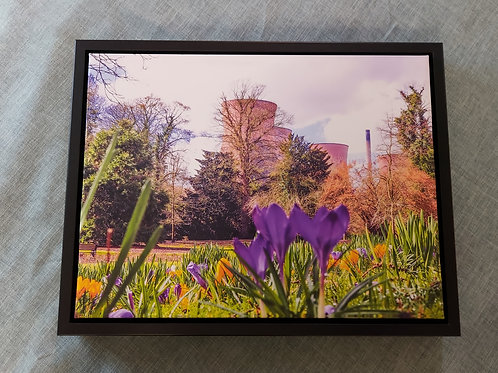 Power Station Canvas in Stunning Floating Frame