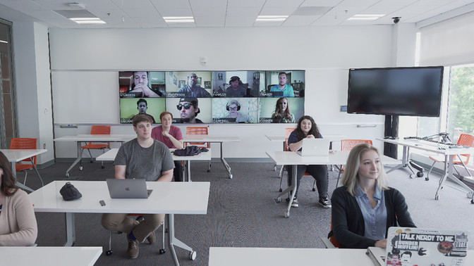 5 Reasons Your College Needs HyFlex Classrooms (and the Arena)