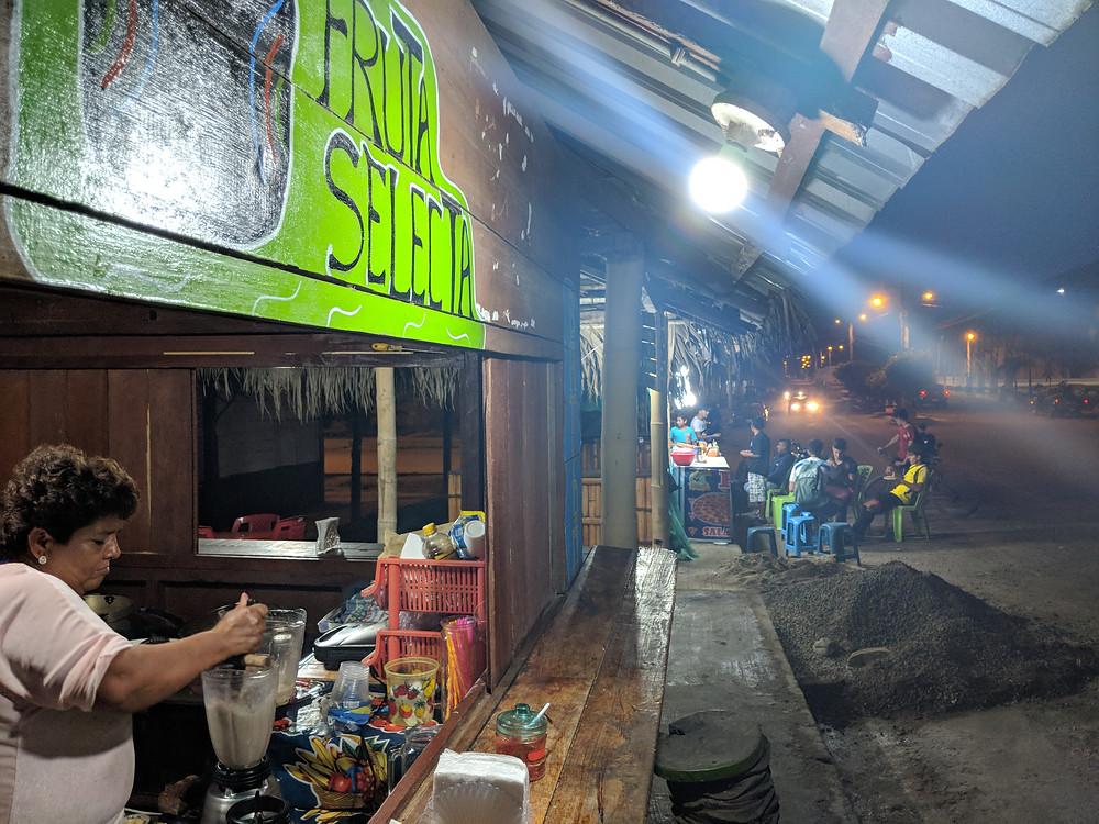 The Fruta Selecta shop!