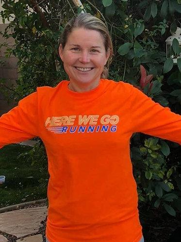 HWG Safety Orange Long Sleeve Unisex