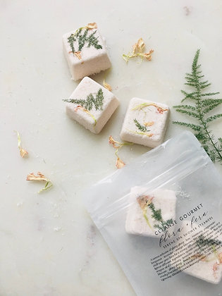 flora + fern shower steamers 2 pack serene spa infusion