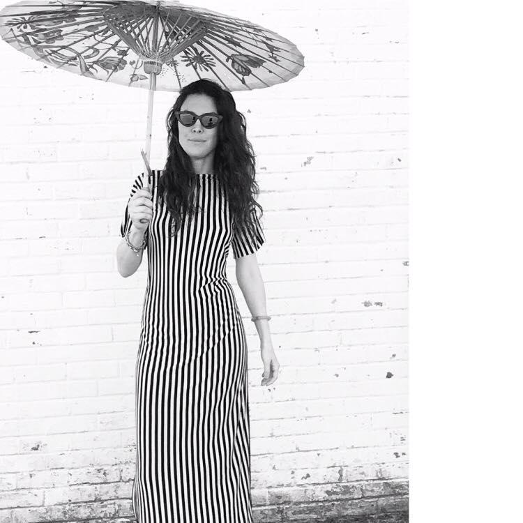 Maxi Dress in Stripes