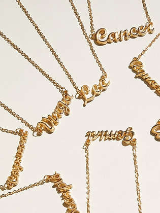 Constellation Charm Necklaces