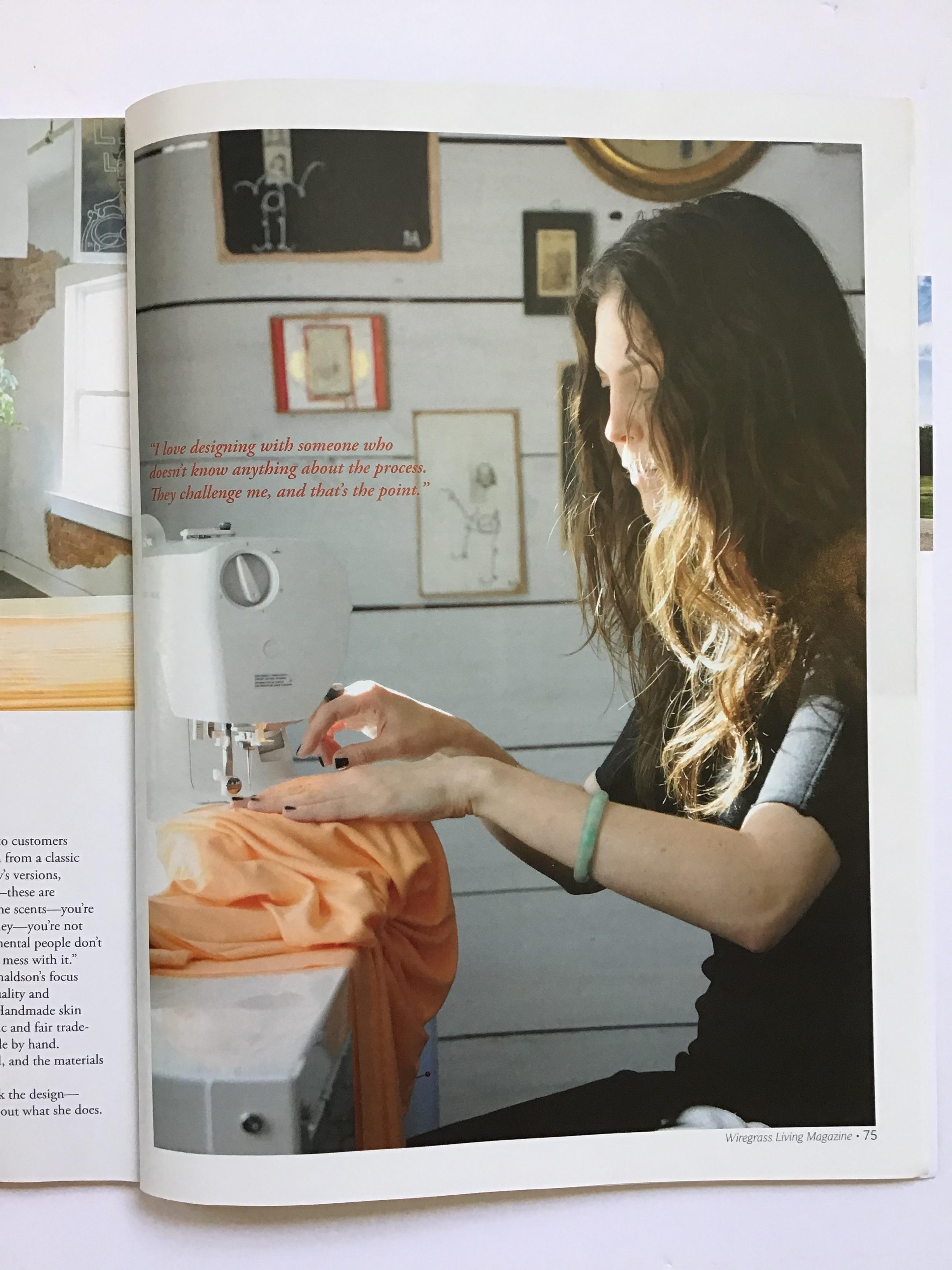 Wiregrass Living Magazine Article