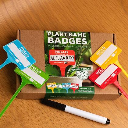 Plant Name Badges