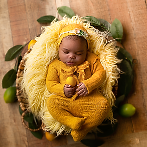 Yellow & Peach doll
