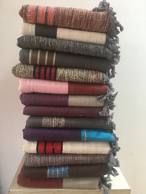 Woven Cotton Mats (Wide & Long) (LOT#4)
